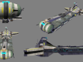 Rebel Pelta Command-Carrier Frigate
