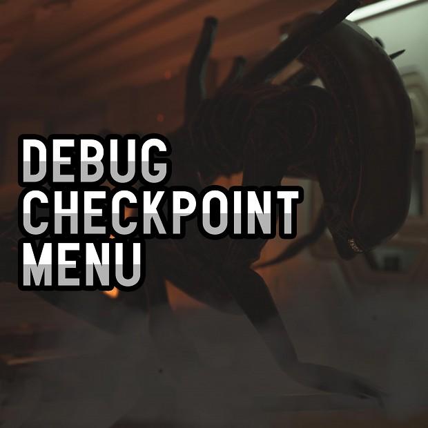 Debug Checkpoint Mod