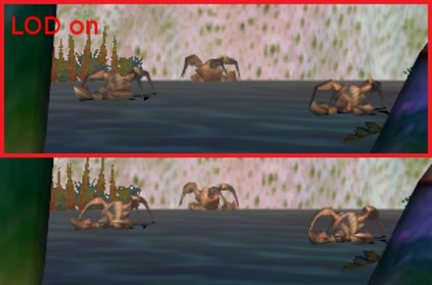 Evolva - LOD modification