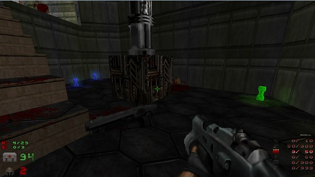 DOOM4 weapons and items voxels V6.