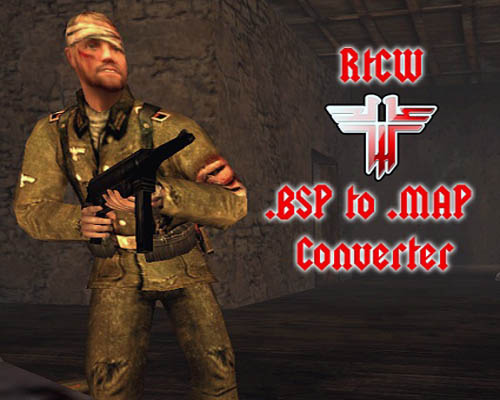 RTCW .bsp to .map Converter