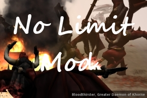 No Limit Mod 1.2.0