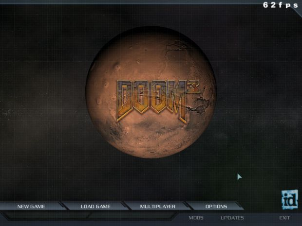6th Venom's Doom3 HQ Mainmenu.