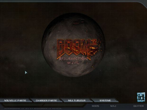 6th Venom's Doom3 RoE HQ Mainmenu 1.00b