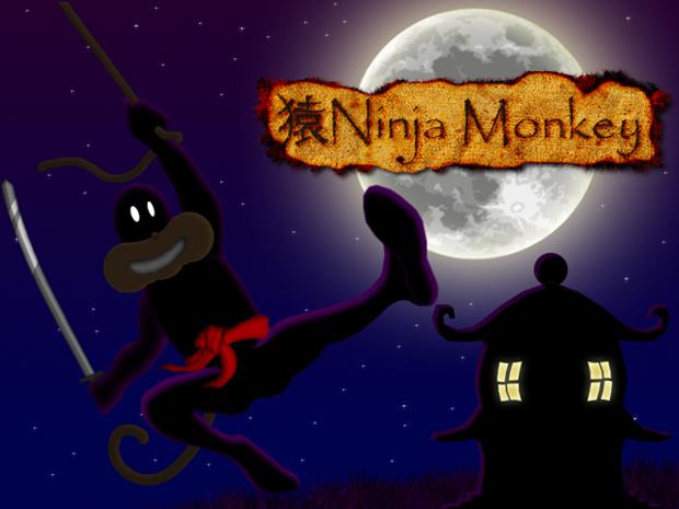 Ninja Monkey Title Menu