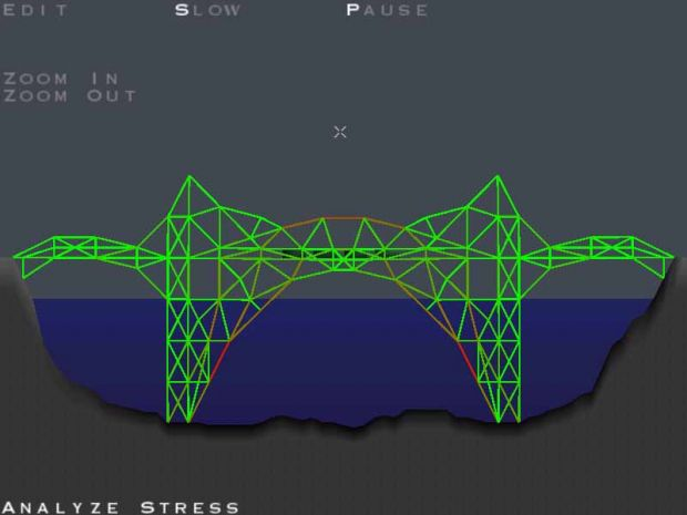 Bridge Builder game