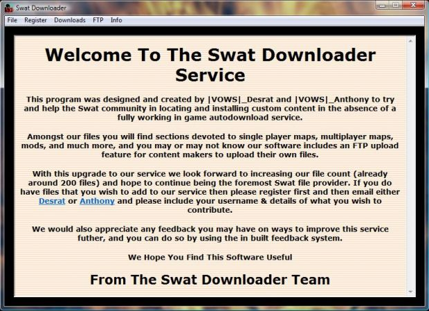 The Swat Downloader