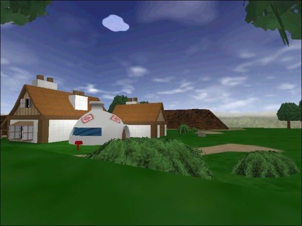 Goku's House Map
