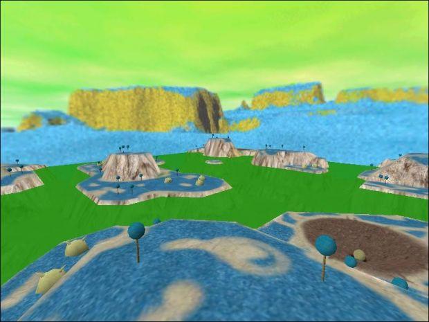 Namek Isles Map