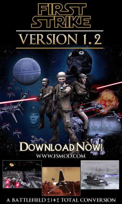First Strike v1.25 Server Files for BF2142 v1.5