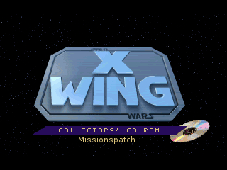Star Wars: X-Wing CD-ROM Edition Missionspatch