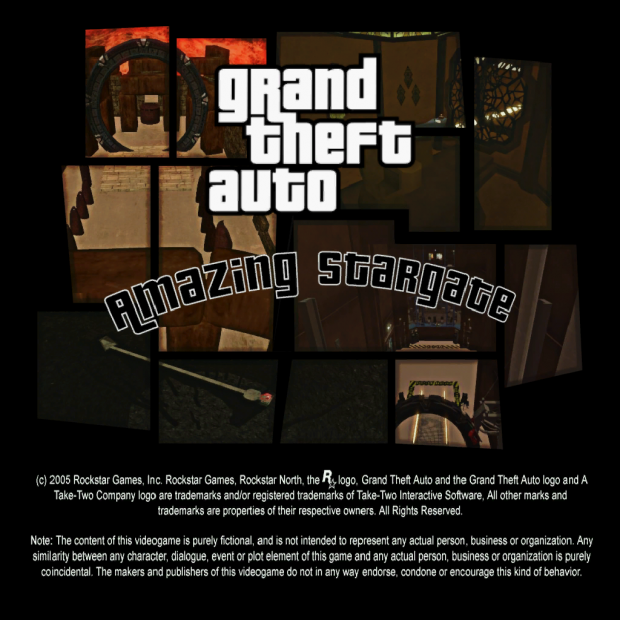 GTA Amazing Stargate (Map Pack)