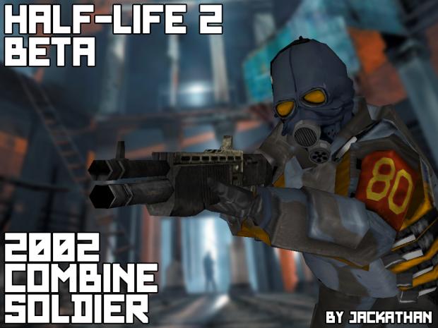 Half-Life 2 Beta: 2002 Combine Soldier
