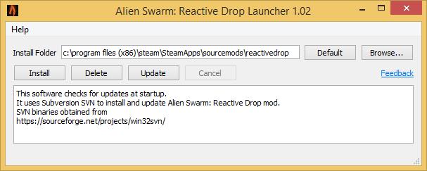 Alien Swarm: Reactive Drop Launcher