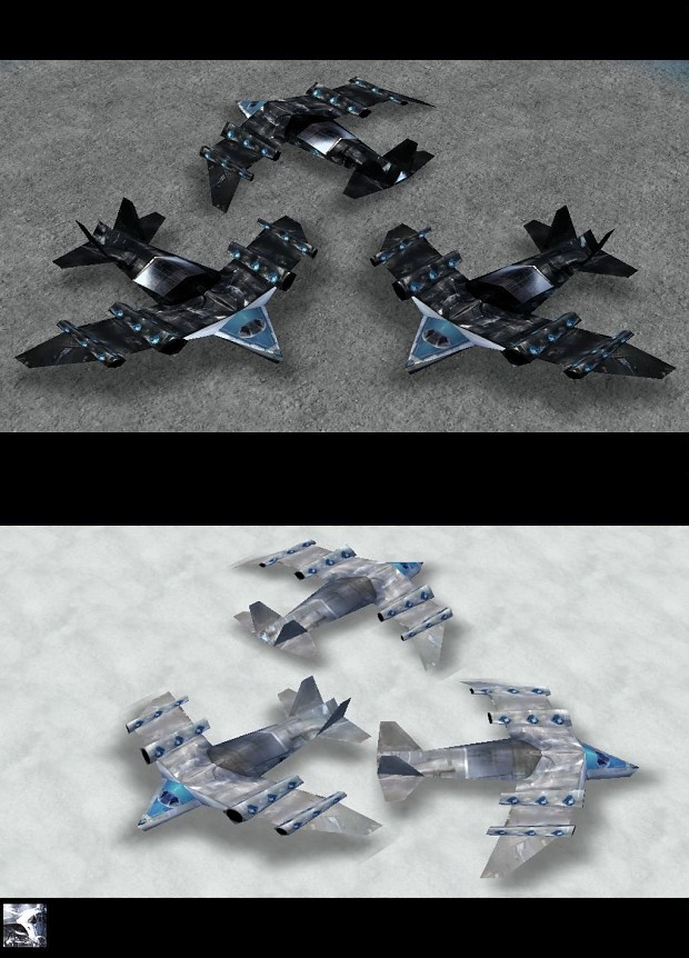 New Skins For Titan Bomber