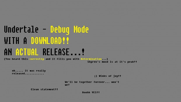 Debug Mode Latest