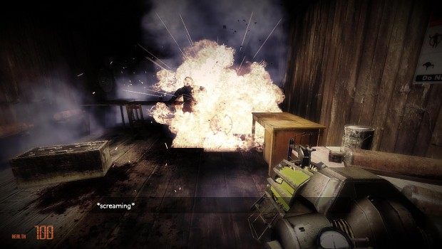 Half-Life 2 Beta : Metrocop Scream