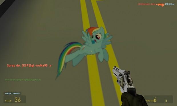 Rainbow Dash[Spray]
