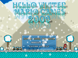 Hello Winter Mario Games 2009