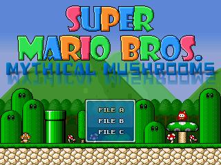 Super Mario Bros: Mythical Mushrooms