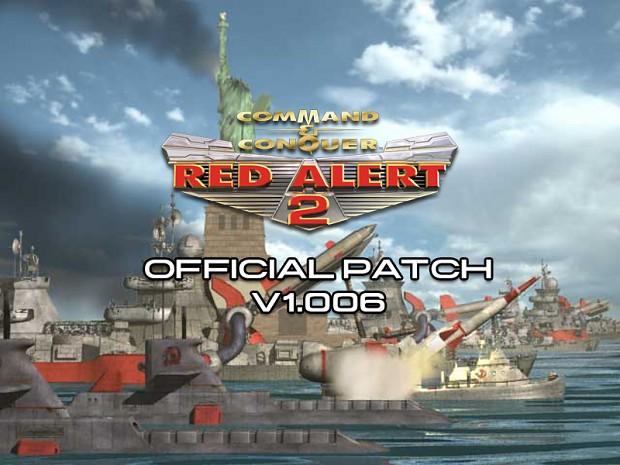 Update red alert 2 patch 1006