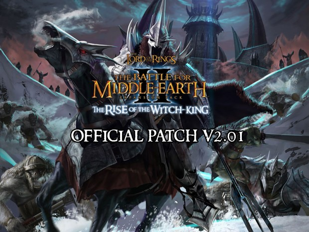 BFME2: Rise of the Witch-King v2.01 Swedish Patch