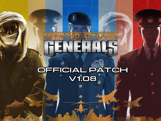 C&C: Generals v1.08 English Patch