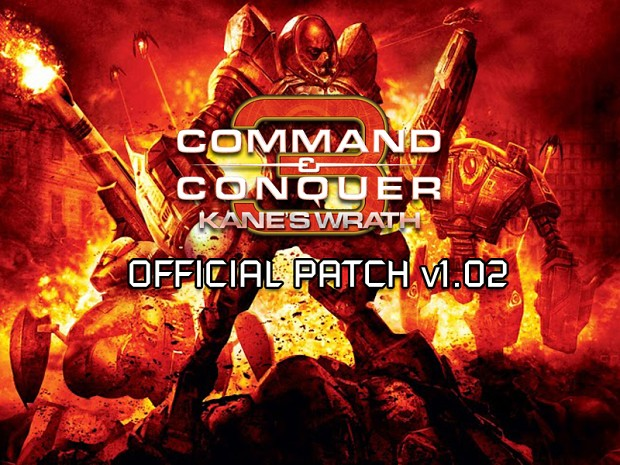 C&C 3: Kane's Wrath 1.02 English Patch