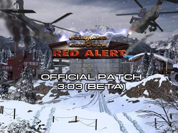 C&C: Red Alert 3.03 (Beta) French Patch