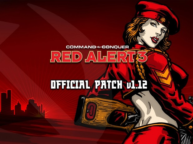 C&C: Red Alert 3 v1.12 German Patch