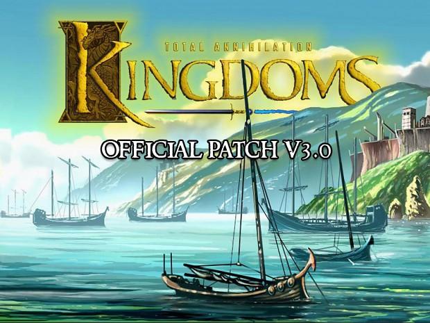 Total Annihilation: Kingdoms v3.0 Patch