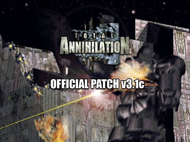 Total Annihilation 1.x To 3.1c Patch