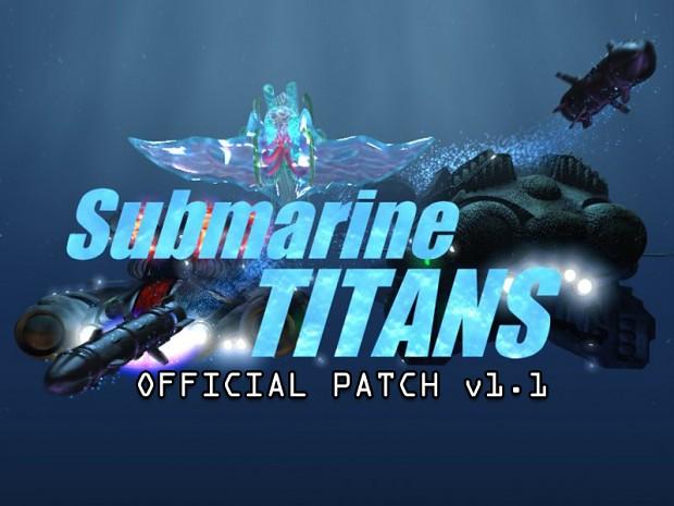 Submarine Titans v1.1 Patch