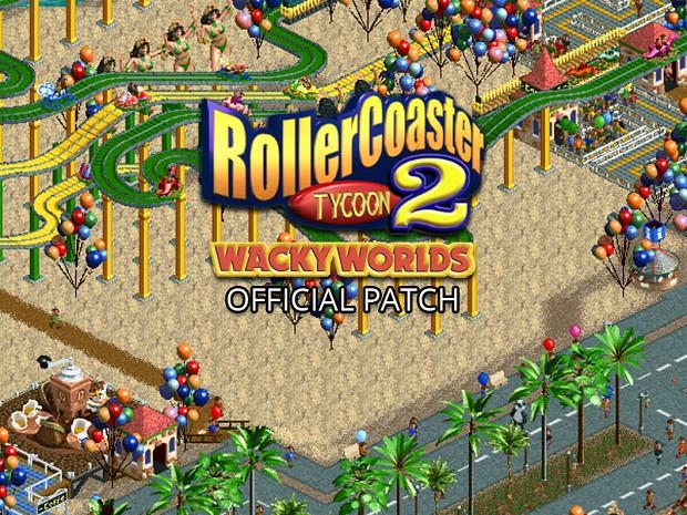 RollerCoaster Tycoon 2: Wacky Worlds Patch file - Mod DB