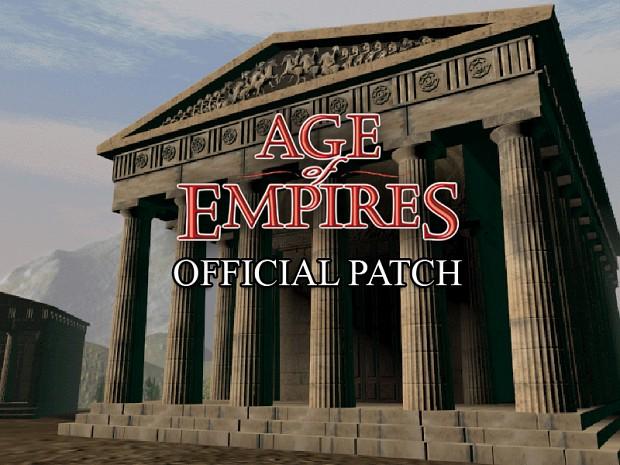 Age of Empires Brazilian/Italian/Spanish Patch