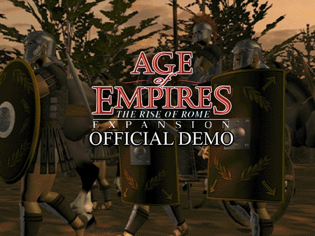 Age of Empires: The Rise of Rome Trial Version