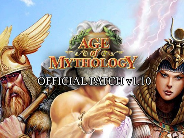 Age of Mythology v1.10 Patch