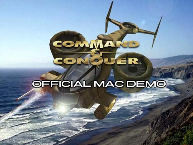 Command & Conquer Mac German Demo