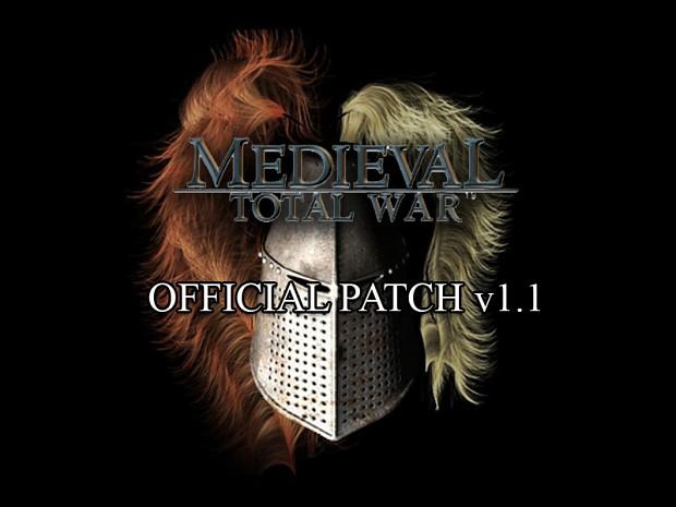 Medieval: Total War v1.1 Patch