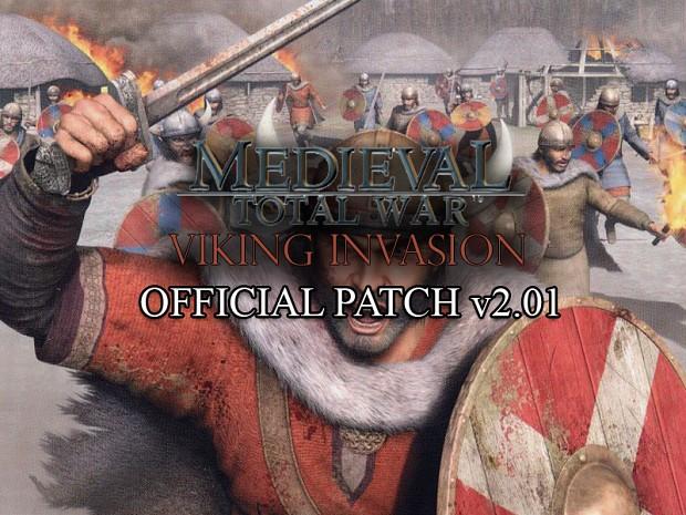 Medieval: Total War - Viking Invasion v2.01 Patch