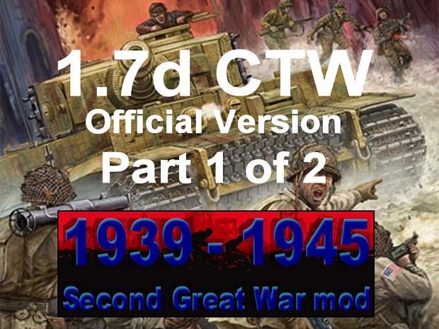 1939-1945 Second Great War 1.7 CTW - Part 1