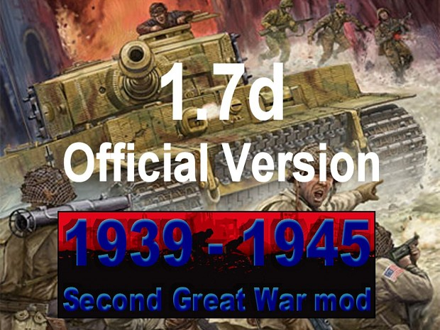 1939-1945 Second Great War 1.7 mod - RON TaP