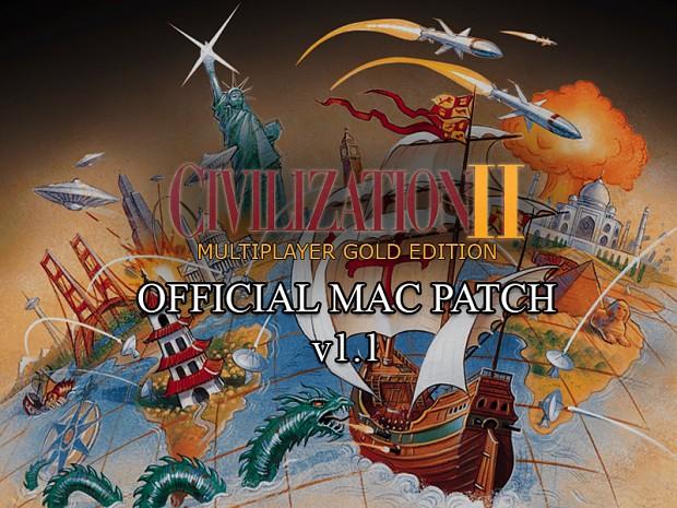 Civilization II: MP Gold Edition Mac v1.1 Patch