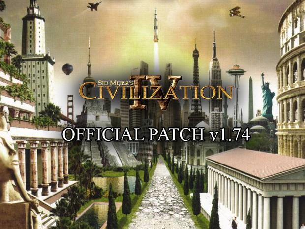 Civilization IV v1.74 Patch