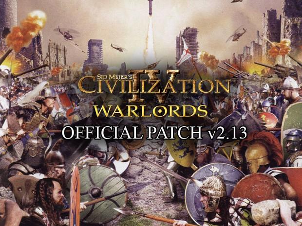 Civilization IV: Warlords v2.13 Patch