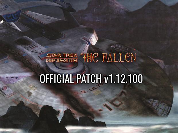 Star Trek DS9 - The Fallen v1.12.100 US/Euro Patch