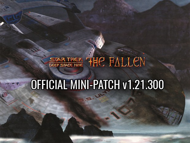 Star Trek DS9 - The Fallen v1.21.300 EN Mini-Patch