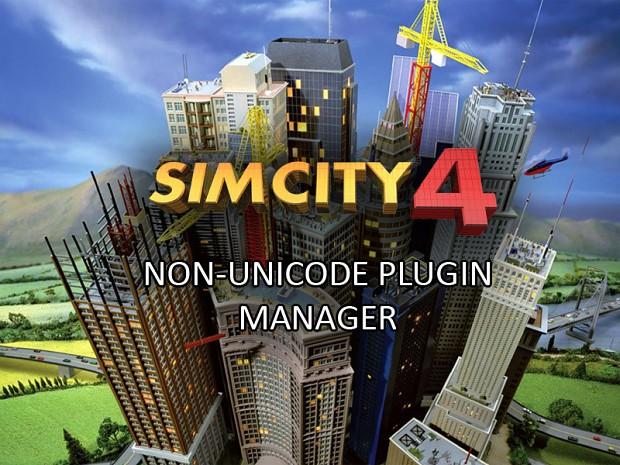 SimCity 4 Non-Unicode Plugin Manager