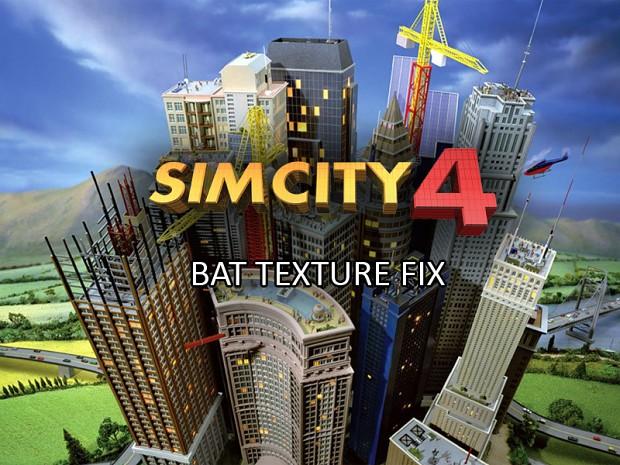 SimCity 4 BAT Texture Fix
