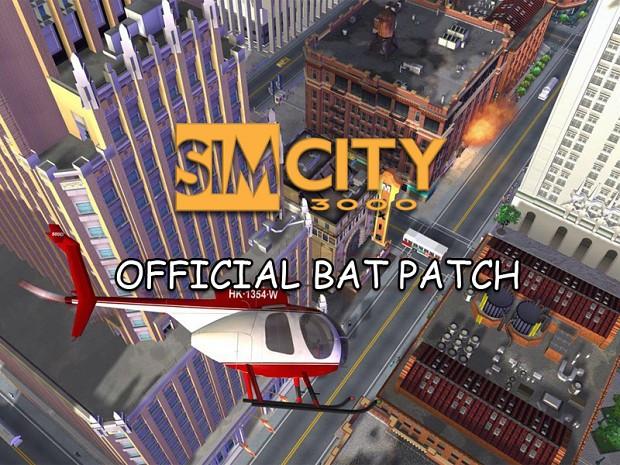 SimCity 3000 BAT SP English Patch